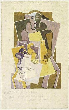 Harlequin, 1922 Juan Gris
