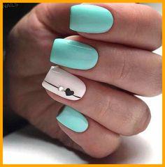 Cute Acrylic Nails, Acrylic Nail Designs, Nail Art Designs, Nails Design, Classy Nails, Simple Nails, Teen Nails, November Nails, Pin On