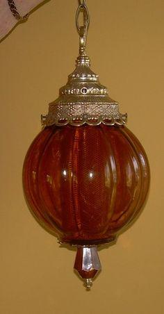mid century retro swag lamp eames era 60u0027s light