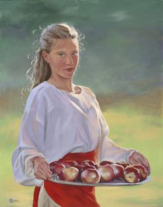 Painting-Oil-Mary Jane Q Cross: Pick of the Afternoon