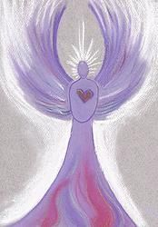 The angel of Forgiveness Archangel Zadkiel, Angel Prayers, The Violet, Prayer Book, Breath In Breath Out, Angel Art, Peace And Love, Amazing Art, Projects To Try