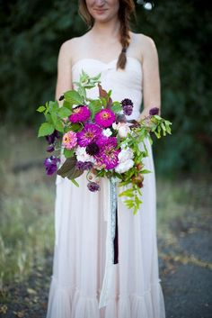 4 Floral Trends You Need to Know About: Wildflower Bouquets