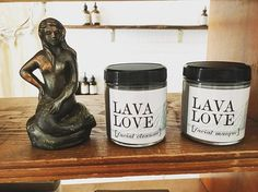 So excited to introduce these 2 new products into the pom wood quiver - lava love collection : facial cleanser + charcoal masque 🌑 | green tea | activated charcoal | rose + Tahitian vanilla bean| • @pomegranatewood ---------------------------- #cleanbeauty #lavalove #ladymade #organic #holisticbeauty #hollisticskincare #renegadeseattle #renegadecraftfair #natural #naturalbeauty #activatedcharcoal #essentialoils #spa #detox #cleanse #nourish #washingtonstate #makersmovement…