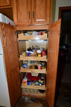 Kraftmaid cabinets at lowes monument house pinterest for Roman pantry
