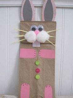 Preschool Crafts for Kids: Easter Bunny Paper Bag Puppet Craft Preschool Crafts for Kids: Easter Bunny Paper Bag Puppet Craft The post Preschool Crafts for Kids: Easter Bunny Paper Bag Puppet Craft appeared first on Paper Diy. Easter Arts And Crafts, Easter Projects, Bunny Crafts, Spring Crafts, Holiday Crafts, Easter Ideas, March Crafts, Rabbit Crafts, Diy Projects