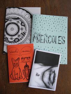 Fanzines by Paolina.  Conseguilos en Espacio Moebius: www.facebook.com/espaciomoebius