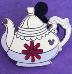 alice teapot hidden mickey disneyland rides