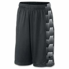 Boys' Nike LeBron Seasonal Basketball Shorts| FinishLine.com | Anthracite/Black