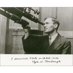 """The """"heart"""" on Pluto is now being called Tombaugh Regio, after the humble man who found this world. #PlutoFlyby"""