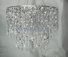 24 D Multi Diamond Cut Chandelier - Silver Large Silver Chande] : Wholesale Wedding Supplies, Discount Wedding Favors, Party Favors, and Bulk Event Supplies Chandelier Bedroom, Silver Chandelier, Chandelier Lighting, Chandelier Crystals, Wedding Supplies Wholesale, Lamp Shades, Home Lighting, Lighting Ideas, Decoration