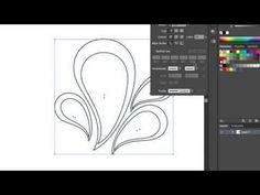 ▶ Illustrator Tutorial: Pen Tool Paisleys - YouTube