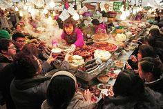 beautifully written description by Christopher Tan of Seoul's Gwangjang Market | SAVEUR