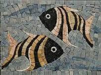 Resultado de imagen para peces en mosaiquismo