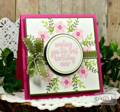 Paper Crafty's Creations : Gina K. Designs: February Release Blog Hop