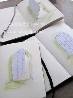 Mari Mochizuki art classes in Kamakura : picture diary /MOLESKINE  望月麻里 こども絵画教室giardino モレスキンを用いた交換絵日記 #望月麻里
