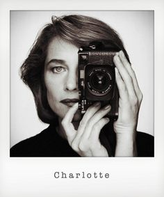 Charlotte-rampling-leica_instant British actress Charlotte Rampling with a Leica camera, circa 1990. Photo by Terry O'Neill Getty Images