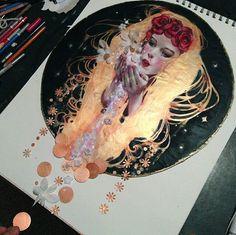Kristin Baugh Shiraef Works in Progress — Peek Inside My Mind