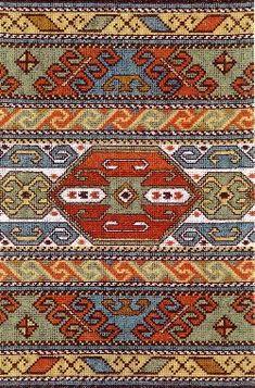 Palestinian Cross Stitch Patterns - Majida Awashreh - Picasa Web Albums - makes a beautiful rug Cross Stitching, Cross Stitch Embroidery, Embroidery Patterns, Palestinian Embroidery, Hungarian Embroidery, Cross Stitch Designs, Cross Stitch Patterns, Cross Stitch Boards, Chart Design