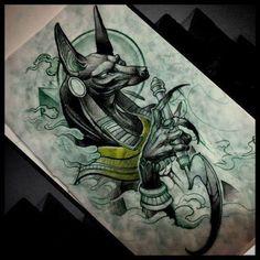 Новости Symbol Tattoos, Body Art Tattoos, New Tattoos, Sleeve Tattoos, Tatto Ink, Tatoo Henna, Tatoo Art, Fenrir Tattoo, Anubis Tattoo