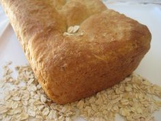 This maple oatmeal bread is a moist, dense loaf with just a hint of sweet at the end. It would make an amazing loaf for breakfast toast or for anytime snacking.