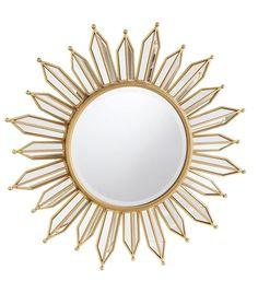 332bd52ce31a Joss   Main Kennie Modern Sunburst Accent Mirror Wall Mirrors Entryway