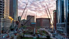 The Rose Kennedy Greenway Conservancy in Boston sought artist proposals from around the world for a piece of contemporary public art around a theme of Connections, symbolic of The Greenway reconnecting the city's downtown to its waterfront. From 97 proposals, The Greenway selected Janet Echelman, whose impressive city-scale fiber net sculptures seem to float overhead while becoming illuminated beacons at night. The Greenway, Echelman, and the project team worked to design, create, permit…