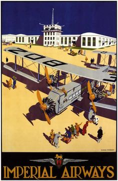 "vntgtravel: ""UAT Advertising Illustration by Jean Colin """