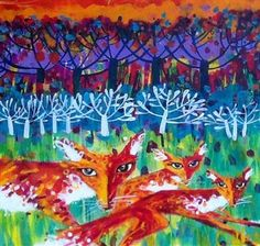 Fox Family - Claire West