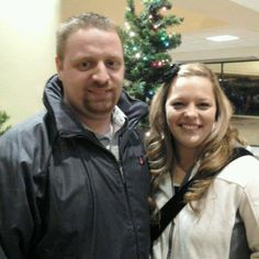 son-Charlie and daughter Krystina   Christmas Eve 2012