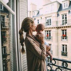 Mum and baby..