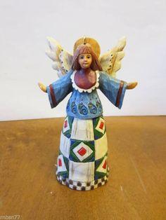 Jim Shore 2002 Angel Christmas Ornament  - http://collectiblefigurines.net/jim-shore/angels/jim-shore-2002-angel-christmas-ornament-4/
