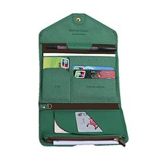 Rfid Blocking Passport Purse Holder PU Leather Cash Credit Card Organzier -- Read more reviews of the product by visiting the link on the image.