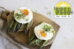 Asparagus and Egg biscuits are a great and healthy combination for breakfast.