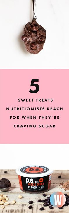 When you're craving something sweet, it can be downright impossible to ignore it, even if you're committed to eating well. To find out how professional healthy eaters—a.k.a. nutritionists—handle their sweet tooth's demands, we asked what they reach for when they need a little sugar. Below, find five of their favorite sweet snacks | Washingtonian