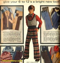 Plaid Stallions : Rambling and Reflections on pop culture Decades Fashion, 70s Fashion, Vintage Fashion, Fashion Men, Ugly Outfits, Just Pretend, Media Design, New Look, Pop Culture