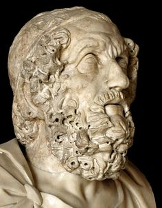 Homer. Marble. After the Hellenistic original of the 2nd century B.C. Inv. No. MC557. Rome, Capitoline Museums, Palazzo Nuovo, Hall of the Philosophers. Photo by S. Sosnovskiy.