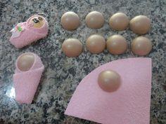 Baby Shower Crafts, Baby Crafts, Baby Shower Parties, Baby Shower Themes, Diy And Crafts, Baby Shawer, Felt Baby, Foam Crafts, Paper Crafts