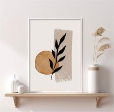 Art Diy, Diy Wall Art, Abstract Shapes, Abstract Wall Art, Abstract Watercolor, Watercolor Paintings, Art Minimaliste, Diy Canvas Art, Small Canvas