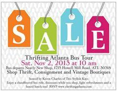 ChiChi Loves...Thrifting Atlanta Bus Tour