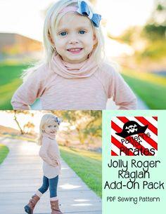 Jolly Roger Raglan Add on Pack Bundle