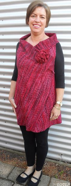 Not much sewing involved! But I really must try this. Sew Outside the Lines™ with Jody Pearl: Wrapping up for Winter :: A Quick REinvent