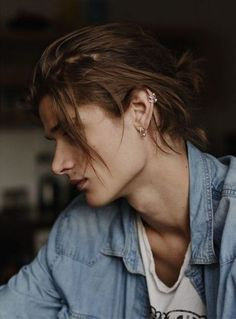 53 Long Hair for Men in Dazzling Style - Haar Ideen Man Bun Hairstyles, Male Long Hairstyles, Latest Hairstyles, Beautiful Boys, Pretty People, Hair Goals, Character Inspiration, Color Inspiration, My Hair