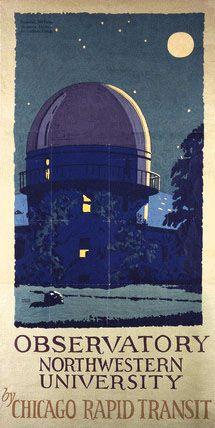 Observatory Northwestern University by William Rice