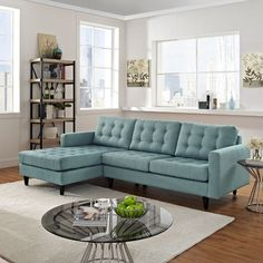 Modway Empress Sectional & Reviews | Wayfair