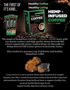 I'm so excited to try this coffee! The benefits of Chaga mushrooms are almost as amazing as I can't wait for my breakfast! Plus it's Keto friendly! Ganja, Cbd Extract, Growing Mushrooms, Cbd Hemp Oil, Medical Marijuana, Healthy Living, Pure Products, Coffee Products, Cruelty Free