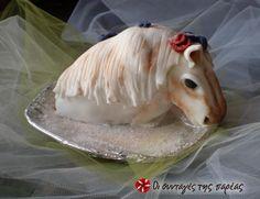 Μίνι - τούρτα άλογο #sintagespareas