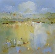 """Barbara Krupp, Muse Gallery, Low Country, a/c, 36""""x36"""""""