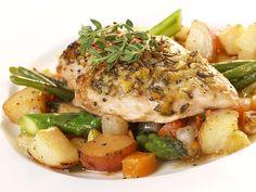 Lemon Garlic Chicken Crock Pot Recipe  Weight Watcher Friendly