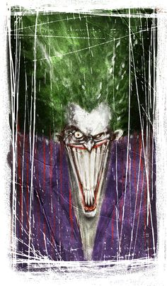 Joker Paint Test via *skottieyoung on deviantART