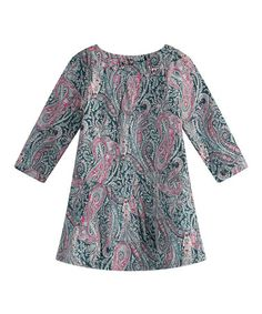 This Black Paisley Shift Dress - Infant, Toddler & Girls by Richie House is perfect! #zulilyfinds